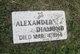 Profile photo:  Alexander Diamond