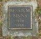 Profile photo:  Bessie M Binns