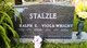 Profile photo:  Viola <I>Wright</I> Stalzle