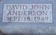 Profile photo:  David John Anderson