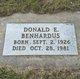 Donald Elton Benhardus