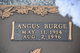 "Profile photo:  Angus Burge ""A.B."" Coley"