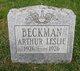 Arthur Leslie Beckman