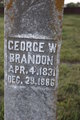 Profile photo:  George Washington Brandon