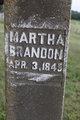 Profile photo:  Martha <I>Vinson</I> Brandon