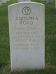 Profile photo:  Adolph S Ford