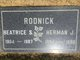 Profile photo:  Beatrice <I>Sandler</I> Rodnick
