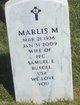 Marlis Mary Margaret <I>Van Overschelde</I> Buxcel