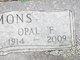 Profile photo:  Opal Fay <I>Duncan</I> Timmons