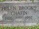 Helen <I>Brooks</I> Chafin