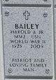 Harold A Bailey, Jr