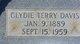 Clydie Terry Davis