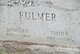 Profile photo: Mrs Edith R <I>Rush</I> Fulmer