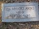 Profile photo:  Ida <I>Brooks</I> Akins