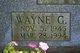 Profile photo: Lieut Wayne George Arendas