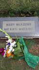 "Mary Lee ""Molly"" <I>Tolle</I> McKouwn"