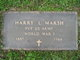 PVT Harry Lyle Marsh