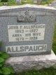 Profile photo:  Anna <I>Davis</I> Allspaugh