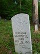 Rebecca <I>Colwell</I> Campbell