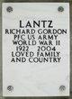 Profile photo: Pvt    Richard Gordon Lantz