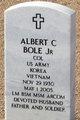 Profile photo:  Albert Cleaver Bole, Jr