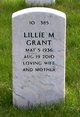 Lillie Marion Grant
