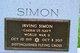 "Irving ""Irv"" Simon"