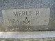 """Merle """"Bud"""" Zetler"""