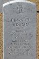 Profile photo:  Edward Adams