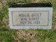 """Mildred Yarbrough """"Millie"""" <I>Roberts</I> Holt"""