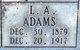 Leo A. Adams