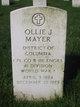 "Profile photo:  Aloysius Joseph ""Ollie"" Mayer"