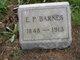 E P Barnes