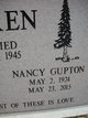 Nancy <I>Gupton</I> Aitken
