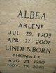 Profile photo:  Arlene Albea