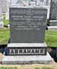 Rachel <I>Alfovitz</I> Abrahams