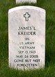 Spec James L. Kreider