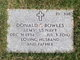 Profile photo:  Donald E. Bowles