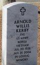 Profile photo:  Arnold Willis Kerby