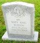 Mary <I>King</I> Burton