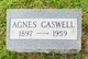 Agnes Caswell
