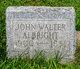 Profile photo:  John Walter Albright
