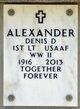 Denis D Alexander
