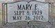 Mary Ella <I>Foster</I> Alford