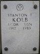 LCDR Stanton Thomas Kolb