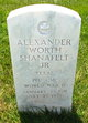 Alexander Worth Shanafelt, Jr