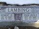 Edna Merle <I>Shubert</I> Lambing