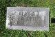 Profile photo:  Bertha E. <I>Pitts</I> Frampton