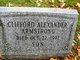 Clifford Alexander Armstrong