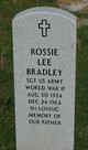 Rossie Lee Bradley